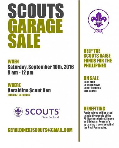 Scouts Garage Sale