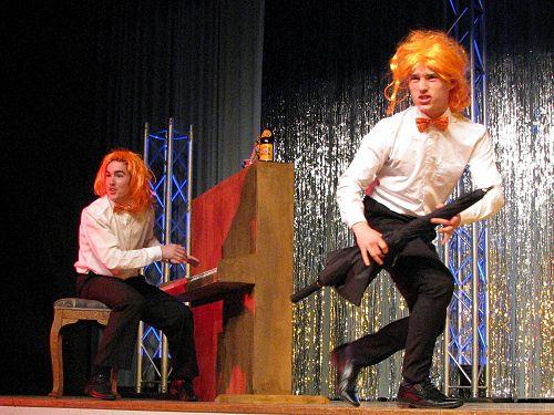 """Callum and Hayden perform """"Prejudice"""" by Tim Minch"""