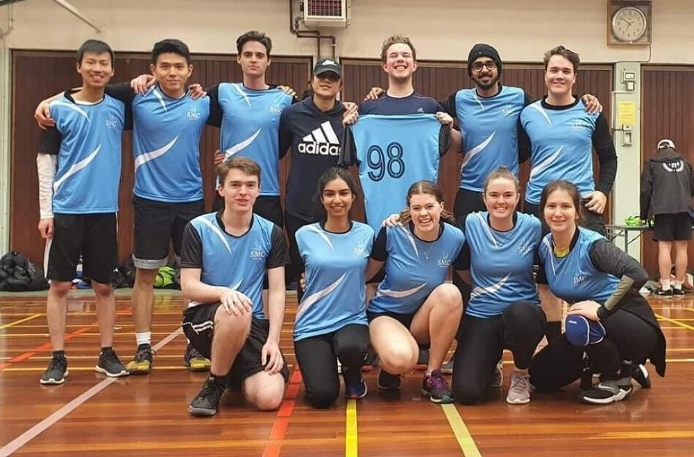 Volleyball Team 1 - won all four of their games, 18/7/20