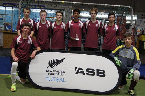Senior Boys Futsal Team
