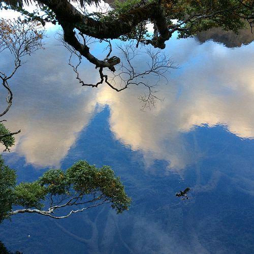 Mirror Lake - Te Anau-Milford Highway, Fiordland National Park
