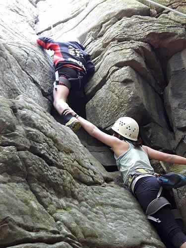 Rock Climbing Activity