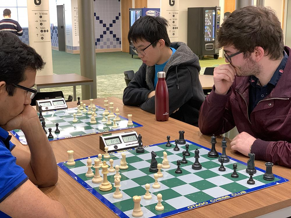 Inter-college Chess Competition, 26/7/20