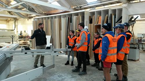 BCITOBig Construction Tour - Leith Joinery