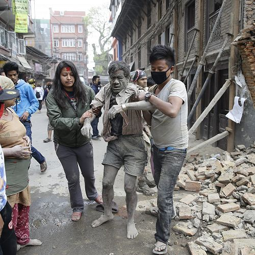 Survivors Pulled from Rubble after 7.8 Earthquake