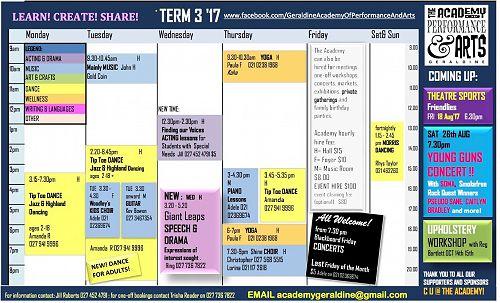 Academy Timetable