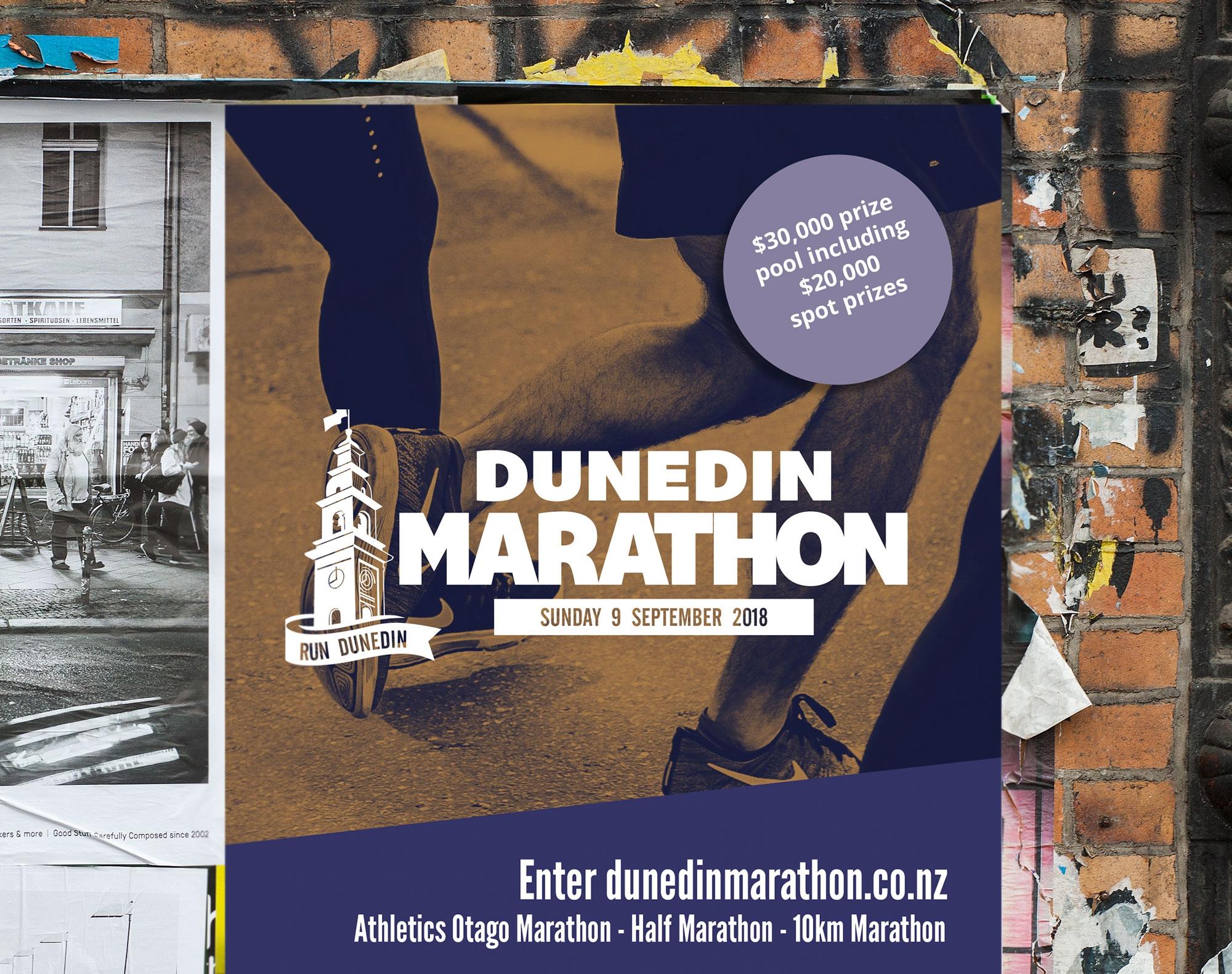 Dunedin Marathon Poster