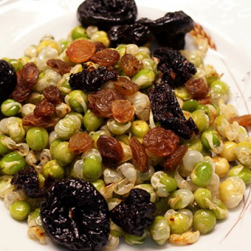 Pálenec (roasted sprouted green peas)