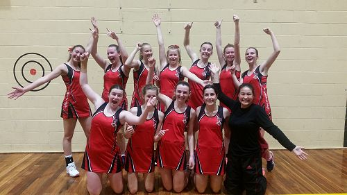 GHS Netball Tournament team