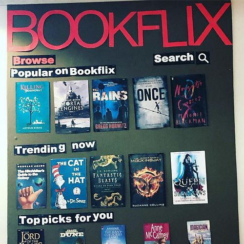 You've heard of Netflix, well we give you Bookflix. What would you add?