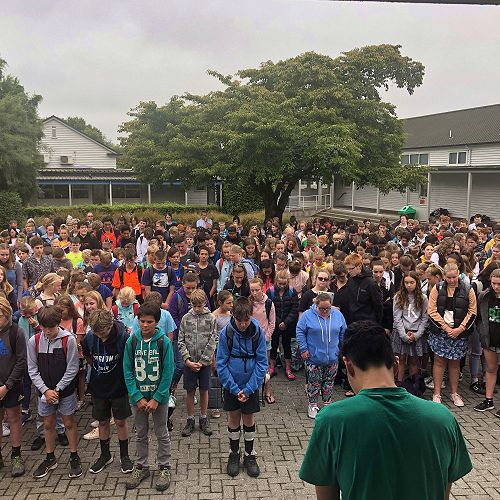 Silence for Christchurch
