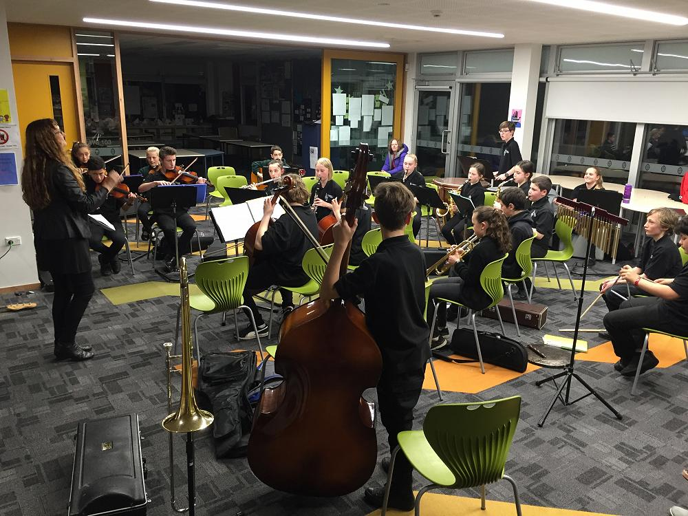 Orchestra Festival workshop