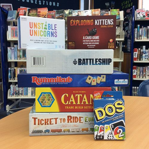 Library - Board Games Friday