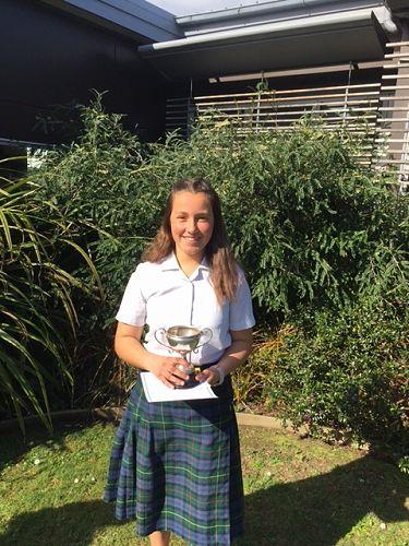 Andrea - Year 8 winner