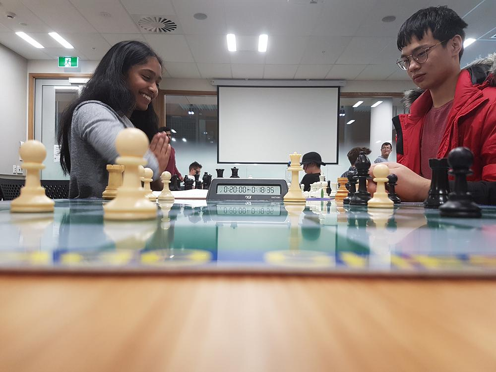 Inter-college Chess Competition, 5 May 2019