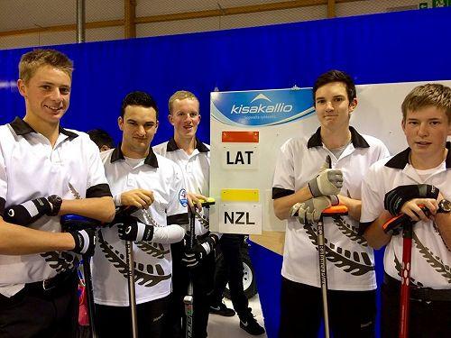 The New Zealand Under 21 Team