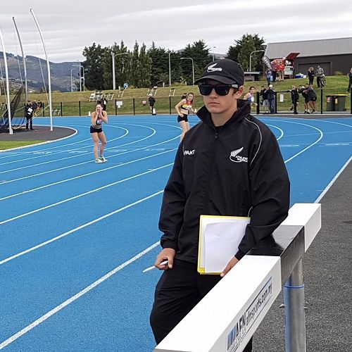 Alex Warlow - NZ Athletics Official