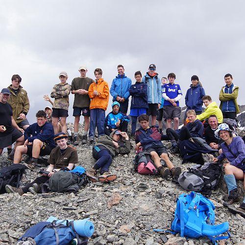 10JCU on the summit of Mt Mason