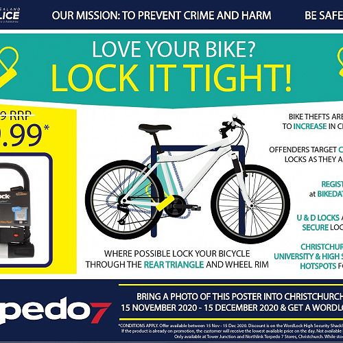 Bike Lock Offer