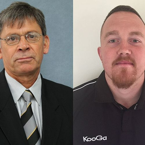 First XV rugby coaches 2018 - Jed Rowlands and Cody Price