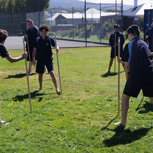 Year 10 Maori students.