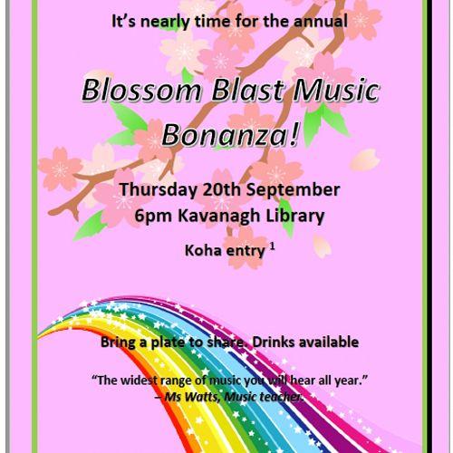 Blossom Blast Music Bonanza