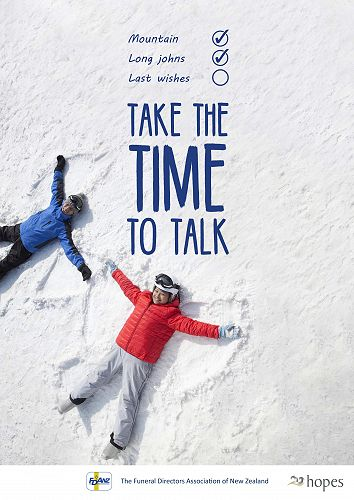 TAKE THE TIME TO TALK
