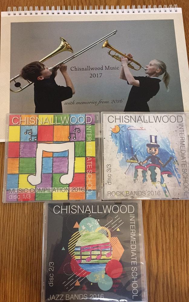 Calendar and CDs 2016
