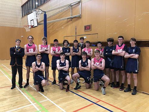 The JMC boys ready to take on their Columba Peers