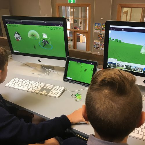 S.E.E.K. Cospaces: digital literacy and coding.