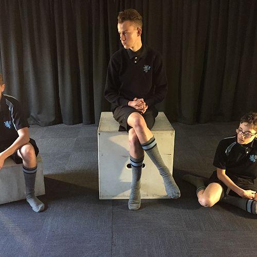 From left; Sam Dorne-Cumming, Harry Lungley, Ryan Lister