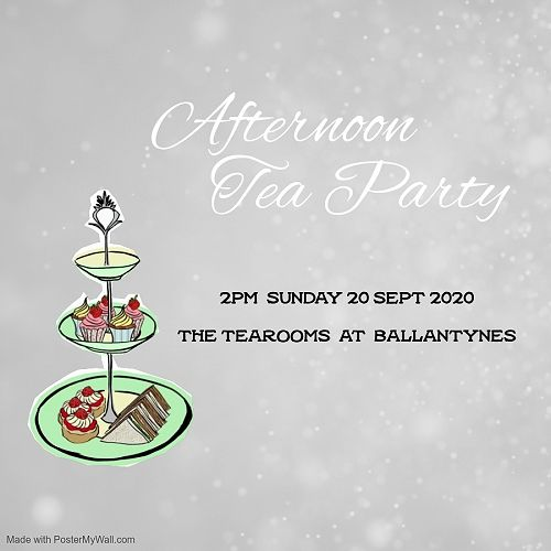 CGHS Old Girls' Afternoon Tea At Ballantynes