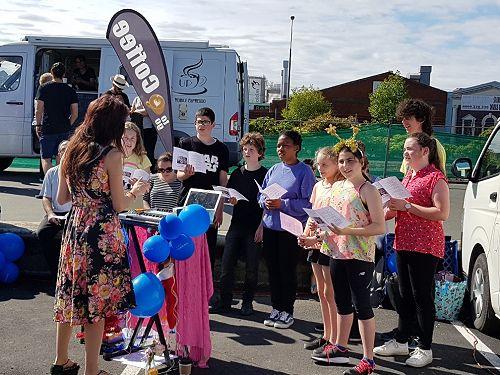 Kavanagh Choir at Otago Farmers' Market 2017