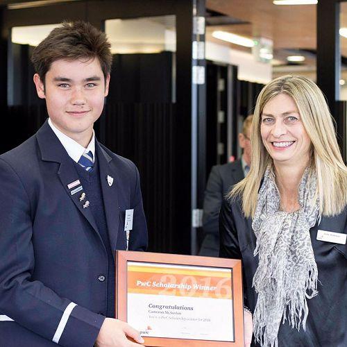 Cameron McAuslan PWC Scholarship Recipient
