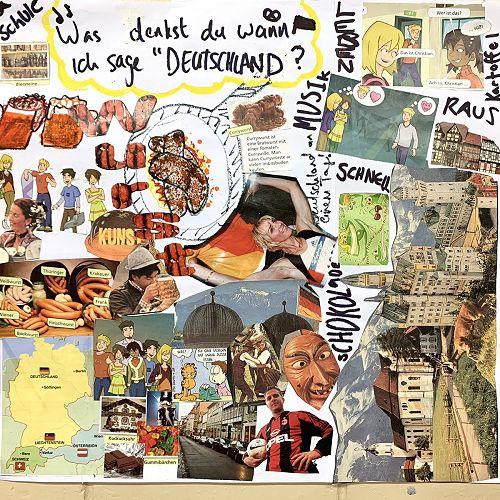Deutschland poster - Year 13s