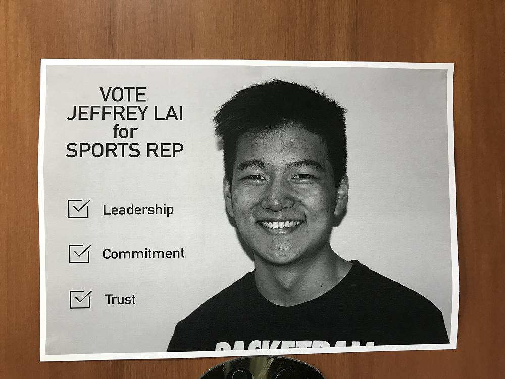 Election posters for 2019 Executive Committee