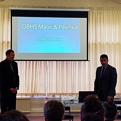 OBHS Māori & Pasifika Celebration Evening
