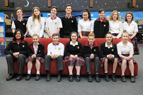 Year 9 Scholarship Winners