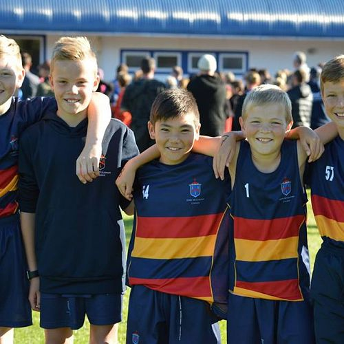 John McGlashan boys compete at the Primary and Intermediate Schools Triathlon