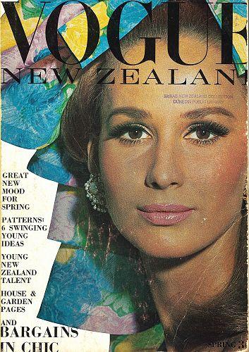 Vintage copy of Vogue New Zealand