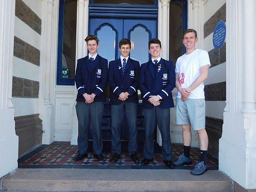 James Williamson, Ben Hogan, Tom Sharp and Tutor T