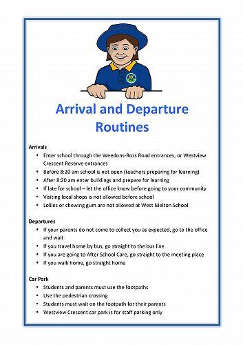 Arrival & Departures