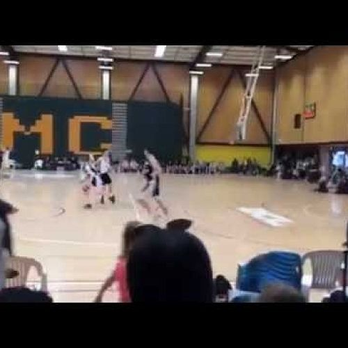 Video: OBHS - Ben Reeves - 3-pointer from half-way