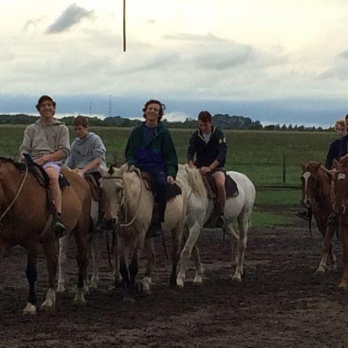 Horse riding at Estancia