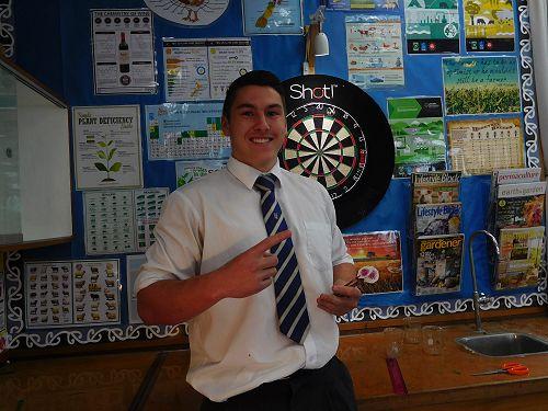 Ricky Jackson - Winner of the 2016 Senior Darts Co