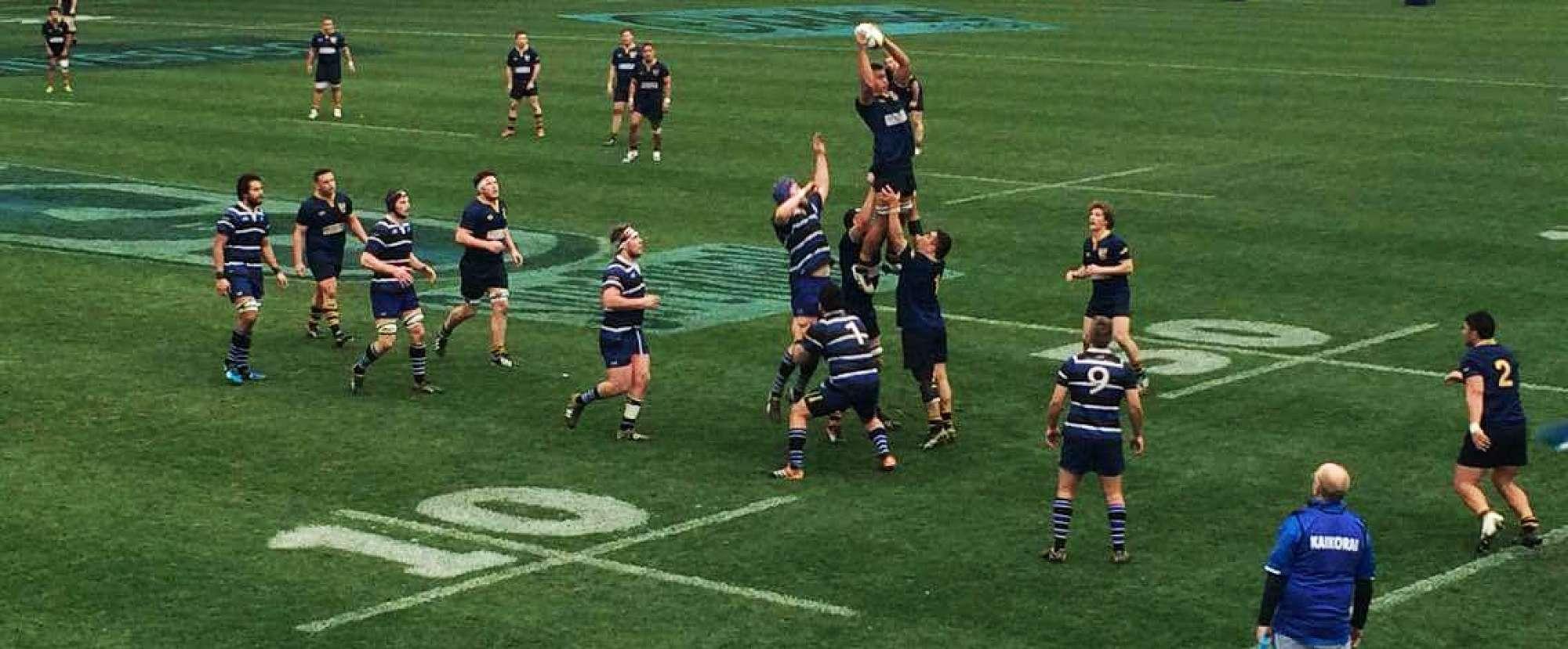 Dunedin v Kaikorai 2016 Premier Final