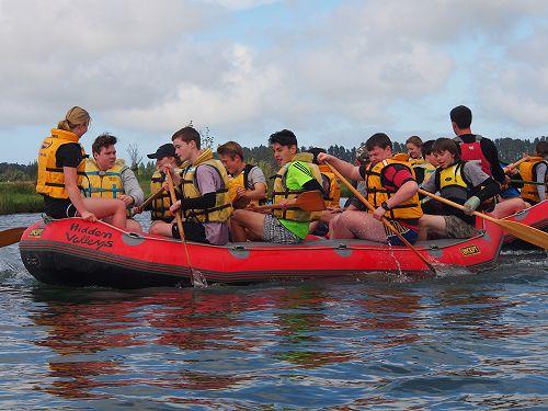Year 10 Ultimate Challenge Day at Lake Hood