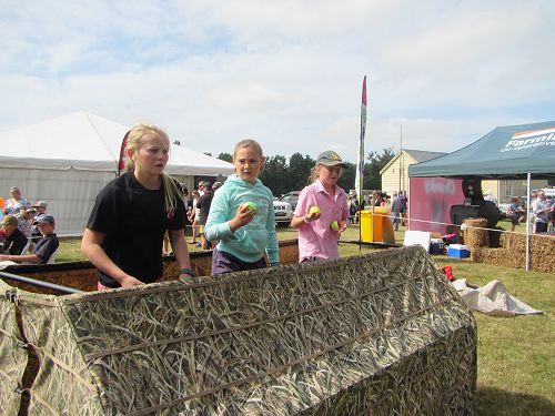 GHS students at Temuka/Geraldine A & P Show
