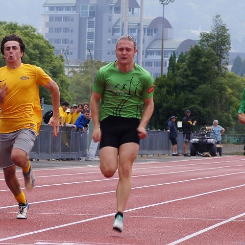 U19 100m finals