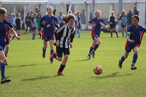 Football striker, Bella Bryant